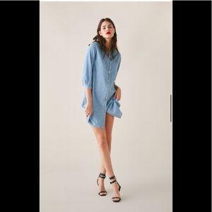 Brand new ZARA denim dress size Small